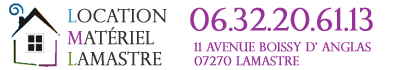 Location Matériel Lamastre Logo